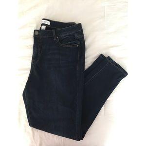 Lane Bryant Super Stretch Mid Rise Skinny Jeans